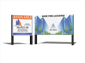 Commercial <br>Real Estate Signs