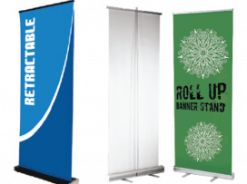 Banner Stands - Retractable