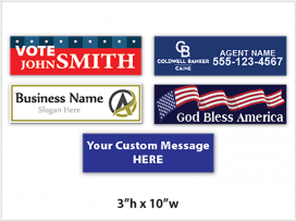 Bumper Sticker / Lapel Stickers