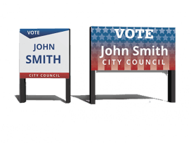 Campaign / Political Signs - Large